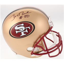 Jerry Rice Signed San Francisco 49ers Full-Size Helmet (Beckett COA)