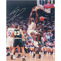 Shaquille O'Neal Signed LSU Tigers 16x20 Photo (Beckett COA)
