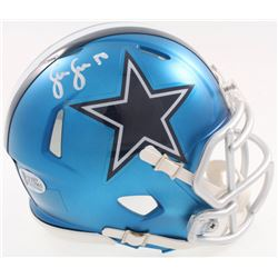 Sean Lee Signed Dallas Cowboys Blaze Speed Mini-Helmet (Beckett COA)