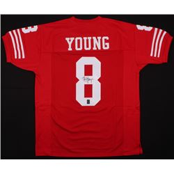 Steve Young Signed San Francisco 49ers Jersey (JSA COA  Young Hologram)