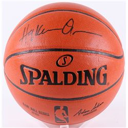 Hakeem Olajuwon Signed NBA Game Ball Series Basketball (JSA COA)