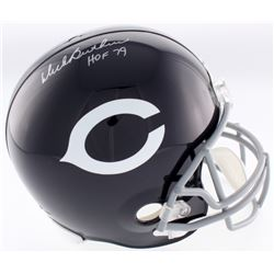 "Dick Butkus Signed Chicago Bears Throwback Full-Size Helmet Inscribed ""HOF 79"" (JSA COA)"
