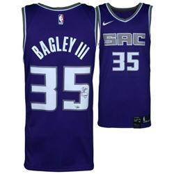 Marvin Bagley III Signed Sacramento Kings Nike Jersey (Fanatics Hologram)