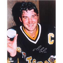Mario Lemieux Signed Pittsburgh Penguins 11x14 Photo (ReichPM COA)