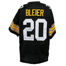 "Rocky Bleier Signed Pittsburgh Steelers Jersey Inscribed ""SB IX X XIII XIV"" (Beckett COA)"