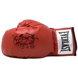 "James ""Buster"" Douglas Signed Everlast Boxing Glove Inscribed ""Tyson KO""  ""2/11/90"" (JSA COA)"