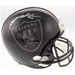 Antonio Brown Signed Oakland Raiders Full-Size Helmet (JSA COA)
