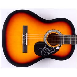 "Susan Tedeschi  Derek Trucks Signed Huntington 39"" Acoustic Guitar (PSA COA)"