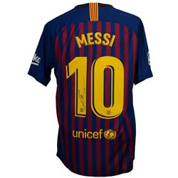 "Lionel Messi Signed Barcelona Nike Jersey Inscribed ""Leo"" (Beckett COA)"