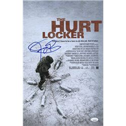 "Jeremy Renner Signed ""The Hurt Locker"" 11x17 Photo (JSA COA)"