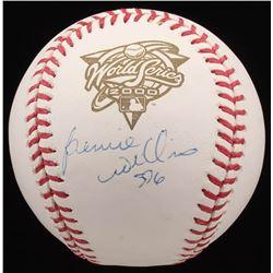"""Bernie Williams Signed 2000 World Series Baseball Inscribed """"SDG"""" (Steiner COA  MLB Hologram)"""