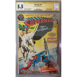 """Neal Adams Signed 1977 """"Superman"""" Issue #249 DC Comic Book (CGC Encapsulated - 5.5)"""