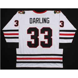 Scott Darling Signed Chicago Blackhawks Jersey (Darling COA)