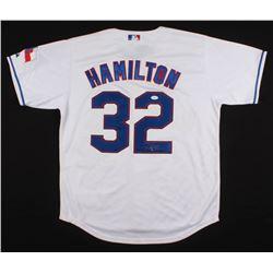 Josh Hamilton Signed Texas Rangers Jersey (JSA LOA)