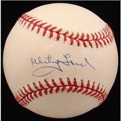 Whitey Ford Signed OAL Baseball (UDA COA)