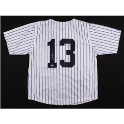 Alex Rodriguez Signed New York Yankees Jersey (Beckett COA)