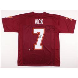 Michael Vick Signed Virginia Tech Hokies Jersey (JSA COA)