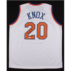 Kevin Knox Signed New York Knicks Jersey (JSA COA)