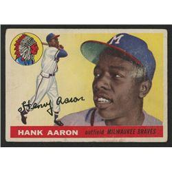 1955 Topps #47 Hank Aaron