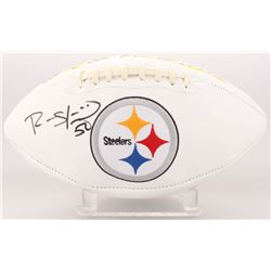 Ryan Shazier Signed Pittsburgh Steelers Logo Football (Beckett COA)