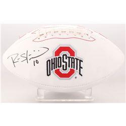 Ryan Shazier Signed Ohio State Buckeyes Logo Football (Beckett COA)