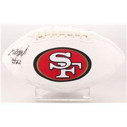 Matt Breida Signed San Francisco 49ers Logo Football (Beckett COA)
