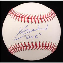 "Kerry Wood Signed OML Baseball Inscribed ""Kid K""  (MAB Hologram)"
