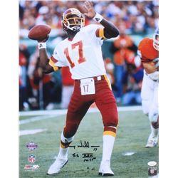 "Doug Williams Signed Washington Redskins 16x20 Photo Inscribed ""SB XXII MVP"" (JSA COA)"