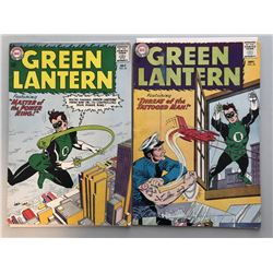 """Lot of (2) 1963 DC """"Green Lantern"""" 1st Series Comic Books with #22, 23"""