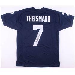 "Joe Theismann Signed Notre Dame Fighting Irish Jersey Inscribed ""CHOF 2003"" (JSA COA)"