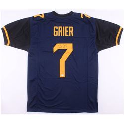 Will Grier Signed West Virginia Mountaineers Jersey (JSA COA)