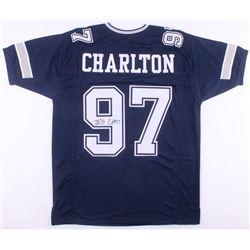 Taco Charlton Signed Dallas Cowboys Jersey (JSA COA)