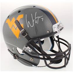 Will Grier Signed West Virginia Mountaineers Full-Size Helmet (Beckett COA)