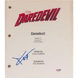 """Charlie Cox Signed """"Daredevil: Into the Ring"""" Episode Script (PSA COA)"""