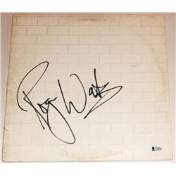 """Roger Waters Signed Pink Floyd """"The Wall"""" Vinyl Record Album (Beckett LOA)"""