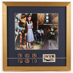 """""""The Wizard of Oz"""" 16x18 Custom Framed Photo Display with (6) Coins"""