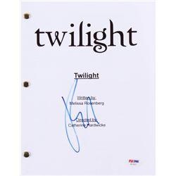 "Robert Pattinson Signed ""Twilight"" Full Movie Script (PSA COA)"