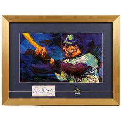 Al Kaline Signed Detriot Tigers 16x21 Custom Framed Cut Display (PSA COA)