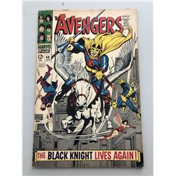 """1968 """"The Avengers"""" First Series Issue #48 Marvel Comic Book"""