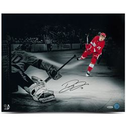 Dylan Larkin Signed Detroit Red Wings 16x20 Photo (UDA COA)
