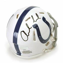 Andrew Luck Signed Indianapolis Colts Mini Speed Helmet (Panini COA)