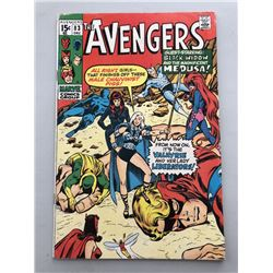 """1970 """"The Avengers"""" First Series Issue #83 Marvel Comic Book"""