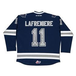 """Alexis Lafreniere Signed Limited Edition Rimouski Oceanic Jersey Inscribed """"1er choix 2017"""" (UDA COA"""
