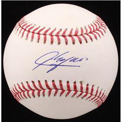 Aroldis Chapman Signed OML Baseball (Beckett COA)