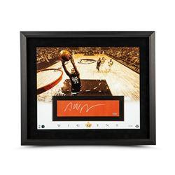 Andrew Wiggins Signed Minnesota Timberwolves 20x24 Custom Framed Limited Edition Cut Display (UDA CO