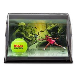 Serena Williams Signed 5.5x7x11 Custom Framed Limited Edition Curve Photo Display (UDA COA)