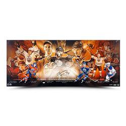 Connor McDavid Signed Edmonton Oilers 15x36 Limited Edition Photo (UDA COA)