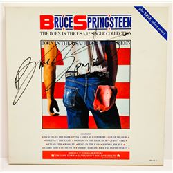 """Bruce Springsteen Signed """"The Born in the USA Single Collection"""" Box Set Cover (JSA LOA)"""
