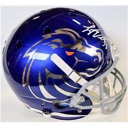 Leighton Vander Esch Signed Boise State Broncos Full-Size Helmet (JSA COA)