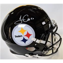 James Conner Signed Pittsburgh Steelers Full-Size Authentic On-Field Speed Helmet (Beckett COA)